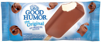 Good Humor® The Original Ice Cream on a Stick Single Serve Novelty 4 oz. Wrapper