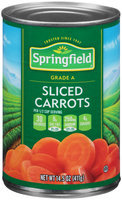 Springfield® Sliced Carrots 14.5 oz. Can