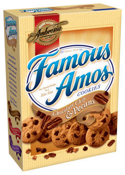 Famous Amos® Chocolate Chip & Pecans Cookies 16 oz. Box