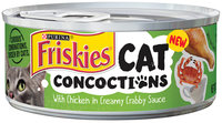 Purina Friskies Cat Concoctions Variety Pack Cat Food 4-5.5 oz. Cans