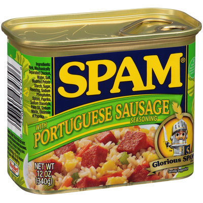SPAM® with Portuguese Sausage Seasoning 12 oz. Pull-Top Can