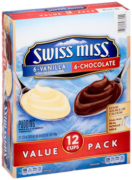 Swiss Miss Vanilla & Chocolate Pudding