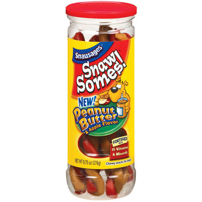 Snaw Somes! Apple & Peanut Butter Flavor Dog Snacks, 9.75-Ounce