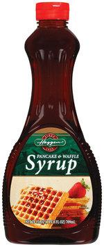 Haggen Pancake & Waffle Syrup 24 Oz Plastic Bottle