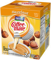 COFFEE-MATE Hazelnut Liquid Coffee Creamer 24 ct Tubs