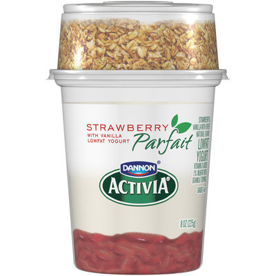Dannon Activia Strawberry Parfait Yogurt