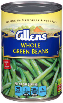 The Allens® Whole Green Beans 14.5 oz. Can