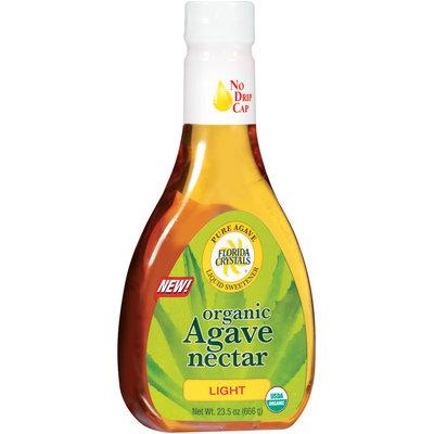 Florida Crystals Light Organic Agave Nectar 23.5 G Plastic Bottle