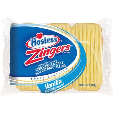 Hostess® Vanilla Zingers® 3 ct Bag
