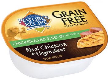 Nature's Recipe® Grain Free Chicken & Duck Recipe in Broth Dog Food 2.75 oz. Cup