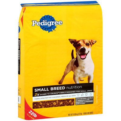 Pedigree® Small Dog Targeted Nutrition Dry Dog Food 11 lb. Bag