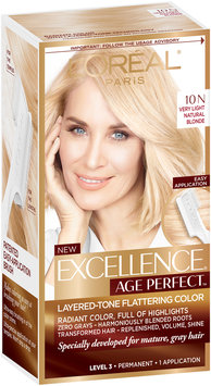 L'Oréal® Paris Excellence® Age Perfect™ Layered-Tone Flattering Color 10N Very Light Natural Blonde 1 Kit