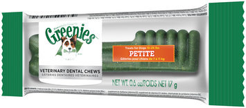 Greenies® Petite Dog Dental Daily Chews 0.6 oz. Package