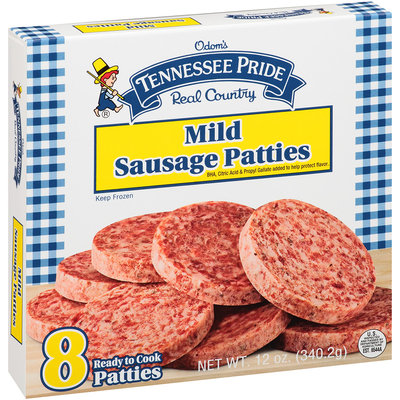 Tennessee Pride Mild Sausage Patties