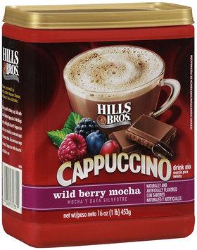 Hills Bros.® Cappuccino Drink Mix Wild Berry Mocha 16 oz