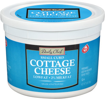 Daily Chef™ 2% Milkfat Small Curd Lowfat Cottage Cheese 3 lb. Tub
