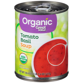 Great Value™ Organic Tomato Basil Soup 18.6 oz. Pull-Top Can