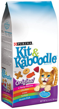 Purina Kit & Kaboodle Original Cat Food 6.3 lb. Bag