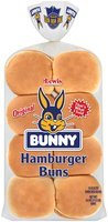 Bunny® Original Hamburger Buns 16 ct. Bag