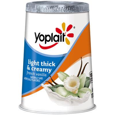 Yoplait® Light Thick & Creamy French Vanilla Fat Free Yogurt 6 oz. Cup