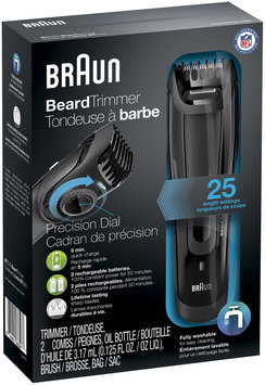 Braun Beard Trimmer BT5070 – Ultimate precision for the perfect beard style with 0.5mm step sizes