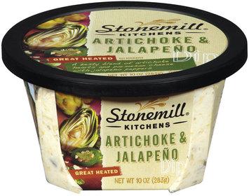 Stonemill Kitchens Artichoke & Jalapeno  Dip 10 Oz Tub