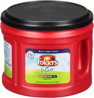 Folgers® 1/2 Caff Medium Ground Coffee 25.4 oz. Canister