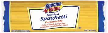 Special Value  Spaghetti 32 Oz Bag