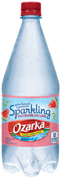 Ozarka® Sparkling Watermelon Lime Natural Spring Water