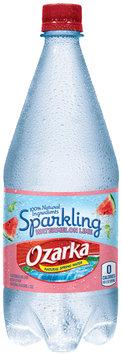 Ozarka® Sparkling Watermelon Lime Natural Spring Water