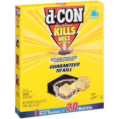 D-Con® Refillable Bait Station Mouse Trap Kit