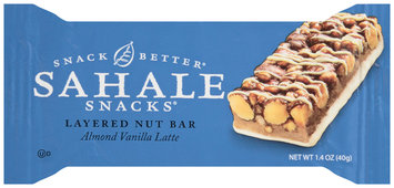 Sahale Snacks® Almond Vanilla Latte Layered Nut Bar