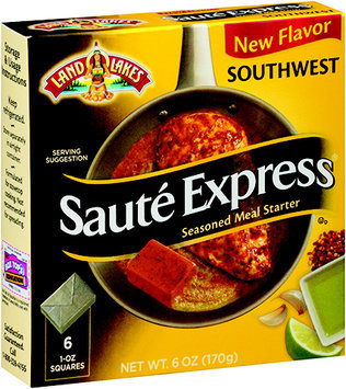 Land O'lakes Saute Express Southwest Flavored Seasoned Meal Starter