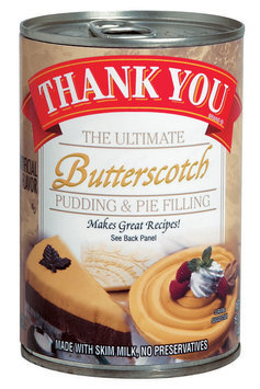 Thank You The Ultimate Butterscotch Pudding & Pie Filling 15.75 Oz Can