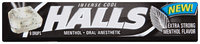 Halls Intense Cool Oral Anesthetic Menthol Drops 9 ct Pack