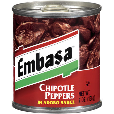 Embasa® Chipotle Peppers in Adobo Sauce 7 oz. Can