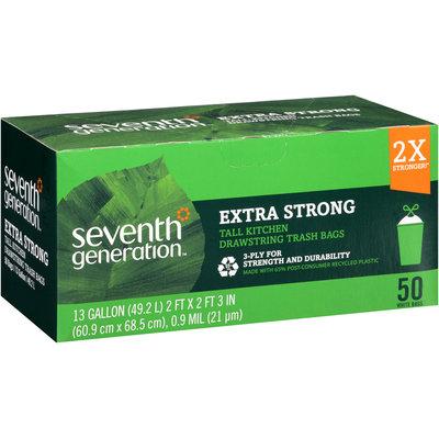 Seventh Generation™ Extra Strong Drawstring Trash Bags