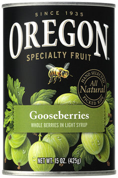 Oregon Fruit Products® Gooseberries in Light Syrup 15 oz. Can