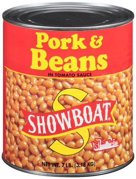 Showboat® Pork & Beans in Tomato Sauce 7 lb. Can