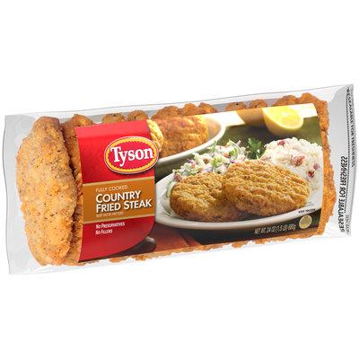 Tyson® Country Fried Steak Patties 24 oz. Bag