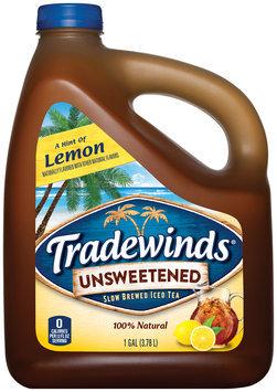 Tradewinds® A Hint of Lemon Unsweetened Iced Tea 1 gal. Jug