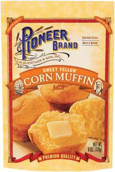 Pioneer Brand Sweet Yellow Corn Muffin Mix 6 Oz Packet