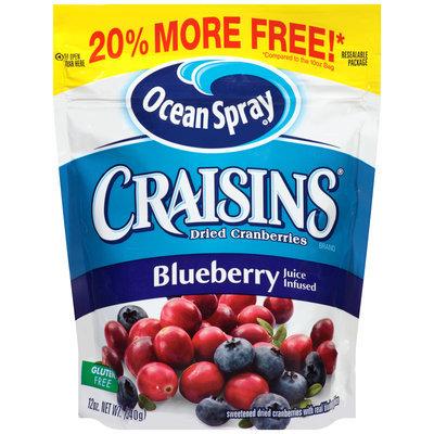 Ocean Spray® Craisins® Blueberry Dried Cranberries 12 oz. Pouch