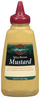 Haggen Spicy Brown Mustard 12 Oz Squeeze Bottle