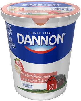 Dannon® Strawberry Banana Yogurt