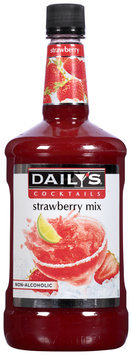 Daily's® Cocktails Non-Alcoholic Strawberry Mix 59.2 fl. oz. Bottle