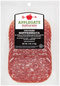 Applegate Naturals® Uncured Soppressata