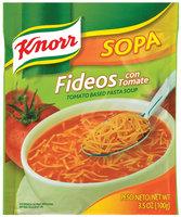 Knorr® Sopa Fideos Tomato Pasta Soup