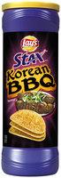 LAY'S® Stax® Korean BBQ Potato Crisps Canister
