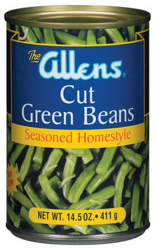 The Allens Cut Seasoned Homestyle Green Beans 14.5 Oz Can
